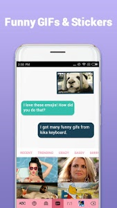 Kika Keyboard - Emoji Keyboard, Emoticon, GIF 5.5.8.3018 APK