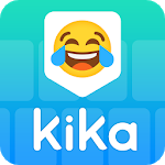 Cover Image of Kika Keyboard - Emoji Keyboard, Emoticon, GIF 5.5.8.3018 APK