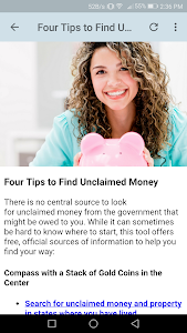 Download Unclaimed Money APK